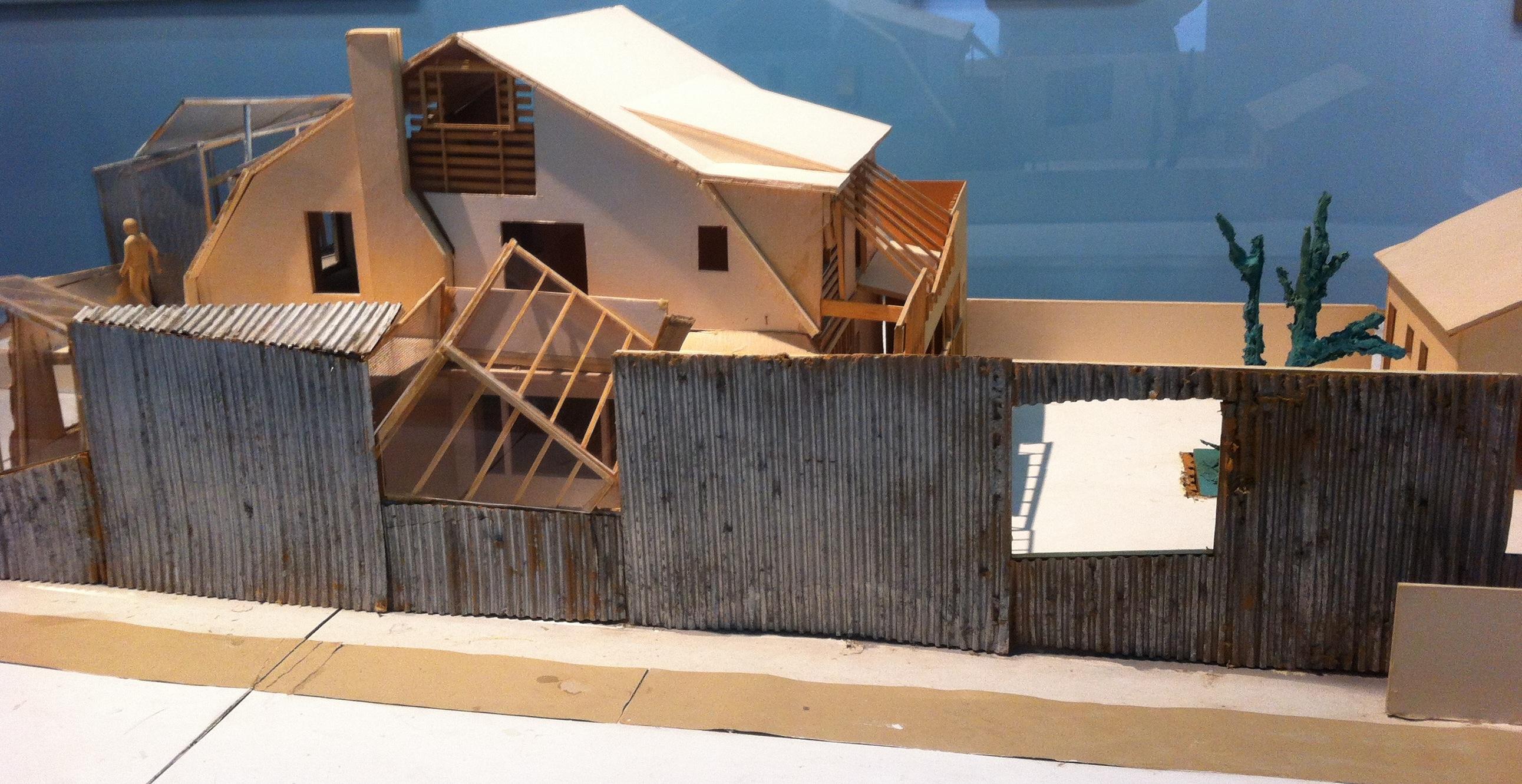 Gehry Résidence ( Santa Monica, Etas-Unis), 1977-1978 et 1991-1994
