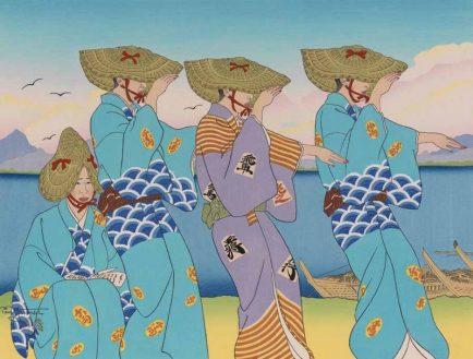 ©Maison de la Culture du Japon, Paul Jacoulet