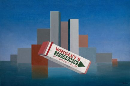 Charles Green Shaw (1892-1974) Wrigley's, 1937 Huile sur toile, 76.2 x 114.3 cm Chicago, The Art Institute of Chicago, don restreint de la Alsdorf Foundation © The Art Institute of Chicago
