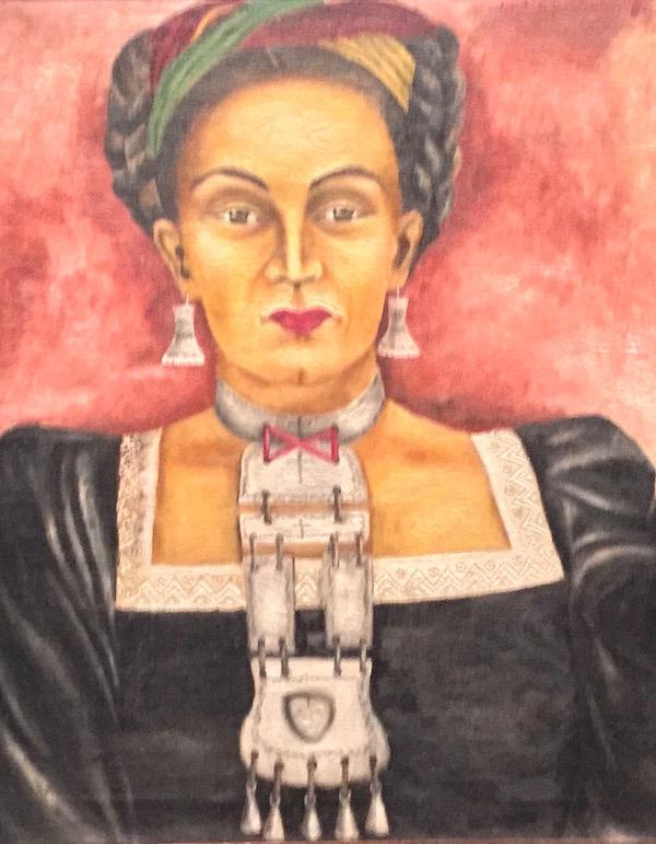 Autoportrait, 1956, Maria Izquierdo