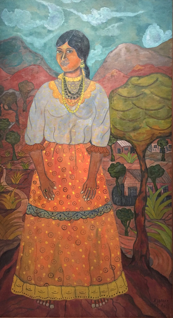 L'indienne, 1923, Abraham Angel
