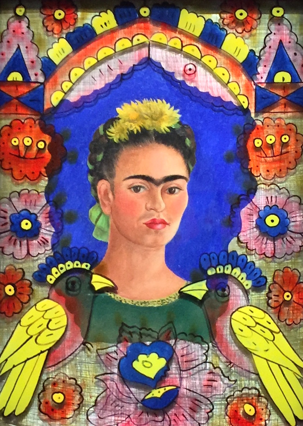 Le Cadre, Frida Khalo, 1938