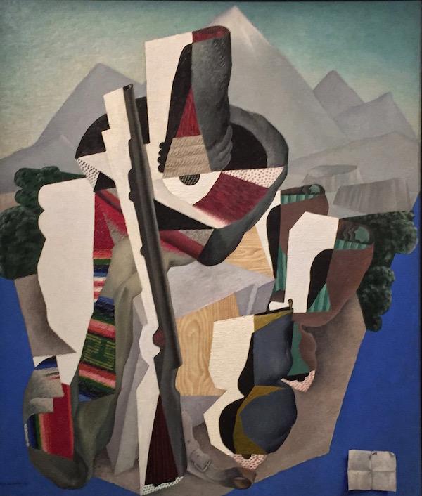 ©Paysage zapatiste, 1915, Diego Rivera