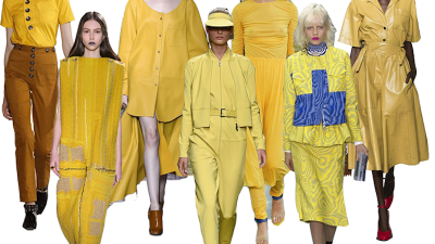 SS17 trends // How to wear yellow ?