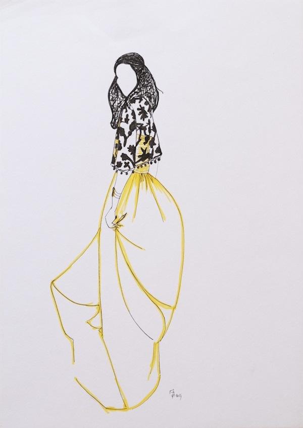 MARINE DEBENEY // Fine illustrations