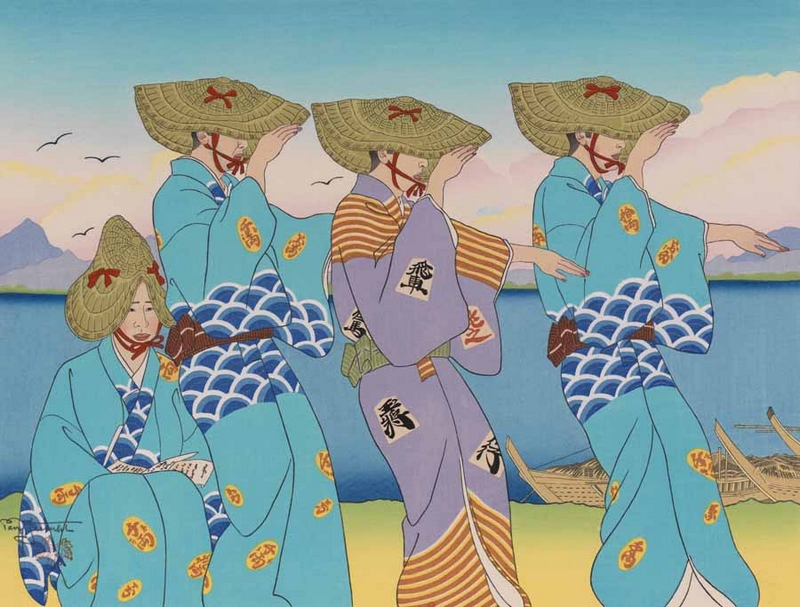PAUL JACOULET // A French artist in Japan