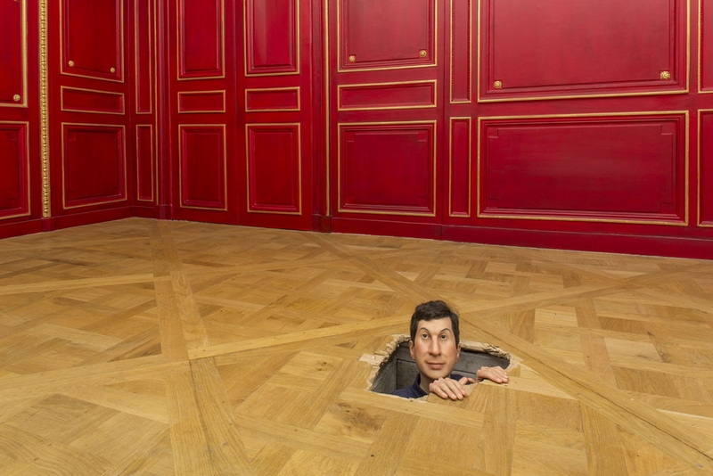 MAURIZIO CATTELAN // Not afraid of love