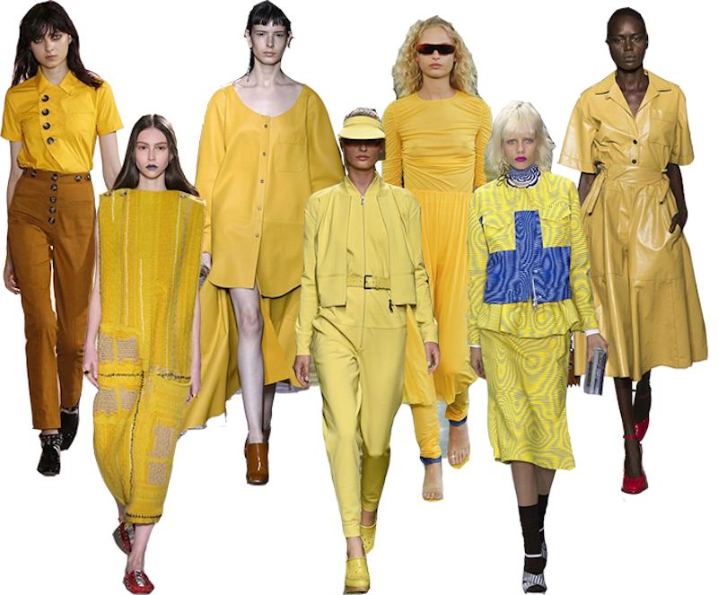TENDANCES PE17 // Comment porter le jaune ?